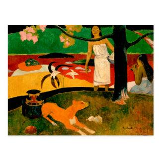 Pastorales Tahitiennes by Paul Gauguin Postcard