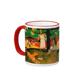 Pastorales Tahitiennes by Paul Gauguin Ringer Mug