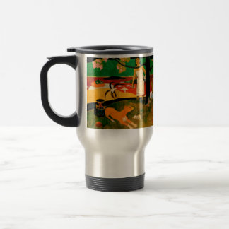 Pastorales Tahitiennes by Paul Gauguin Travel Mug