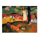 Pastorela de Paul Gauguin- Tahitian Postal