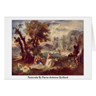 Pastorela de Pedro-Antoine Quillard Tarjetón