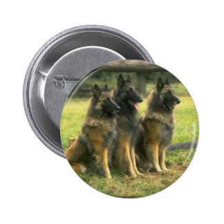 pastores 3-German Pin Redondo 5 Cm