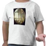 Pastores con los animales en un paisaje clásico camisetas