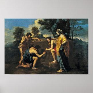 Pastores en Arcadia (y en ego de la Arcadia), Póster