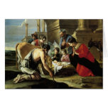 Pastores que adoran del siglo XVII Felicitaciones