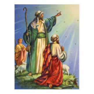 Pastores y la estrella postal