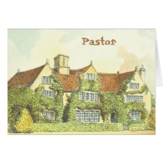 Pastor's Ministry Card
