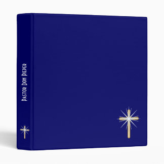 Pastor's Notebook Binder