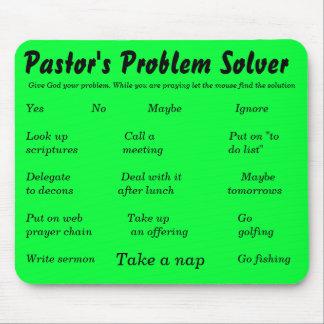 Pastor's Problem Solver, Give God your problem.... Mouse Pad