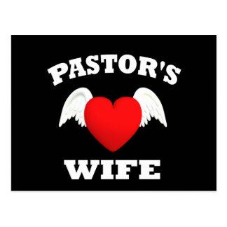 Pastor's Wife Postcard