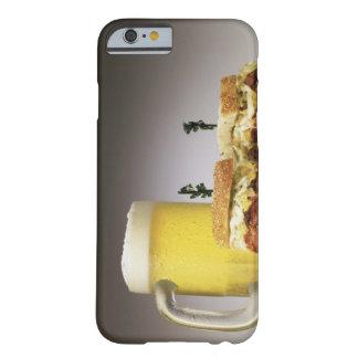 Pastrami en ruda con la cerveza funda de iPhone 6 barely there