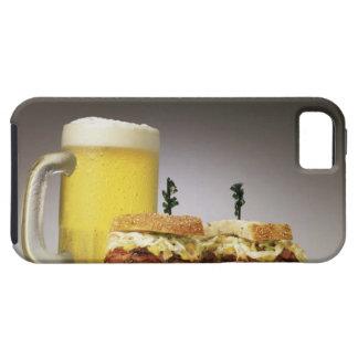 Pastrami en ruda con la cerveza iPhone 5 funda