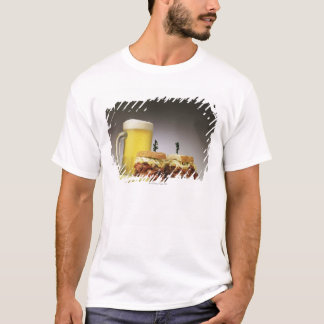 Pastrami on rue with beer T-Shirt