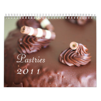 Pastries 2011 Calendar