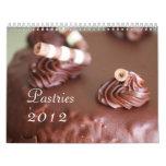 Pastries 2012 Calendar