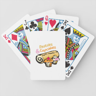 PASTRIES AND CUPCAKES BICYCLE PLAYING CARDS