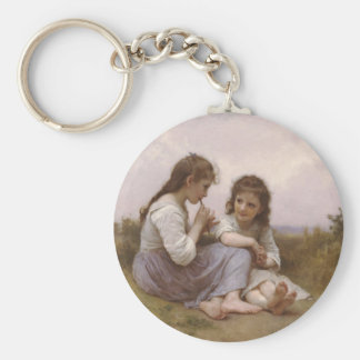 Pastrol song of juvenile age key chain