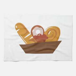 Pastry Basket Hand Towels