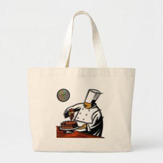 Pastry Chef Art Jumbo Tote Bag