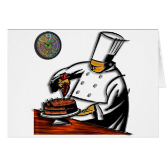 Pastry Chef Art Card
