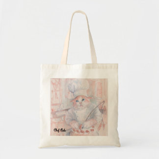 Pastry Chef Axle Budget Tote Bag