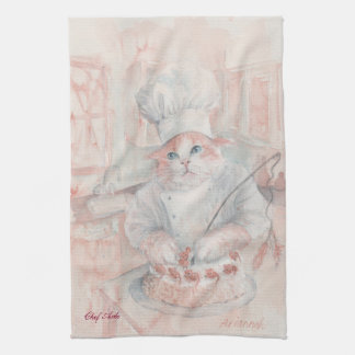 Pastry Chef Axle Dish Towel