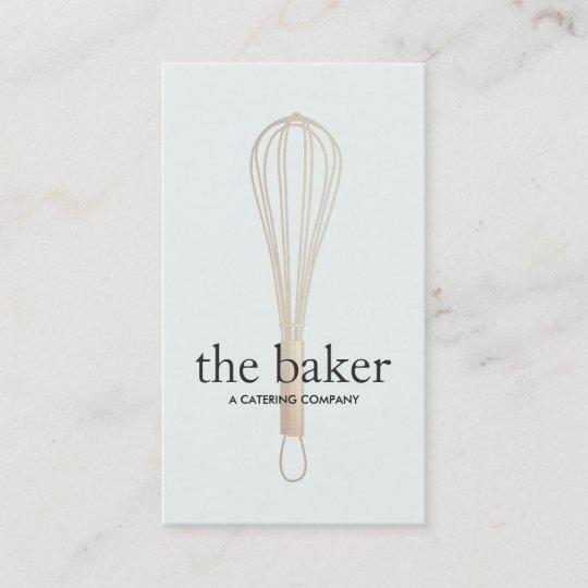 Pastry chef baker whisk logo bakery catering ii business card pastry chef baker whisk logo bakery catering ii business card colourmoves