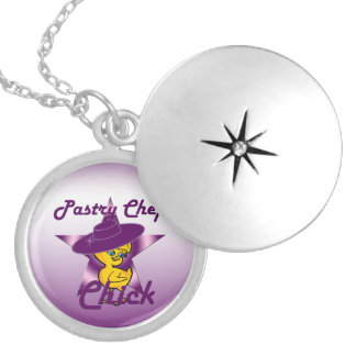 Pastry Chef Chick #9 Locket Necklace
