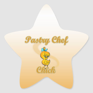 Pastry Chef Chick Stickers