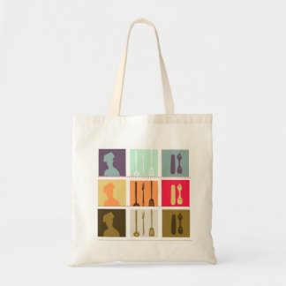 Pastry Chef Gone Shopping Budget Tote Bag