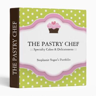 Pastry Chef Portfolio Binder