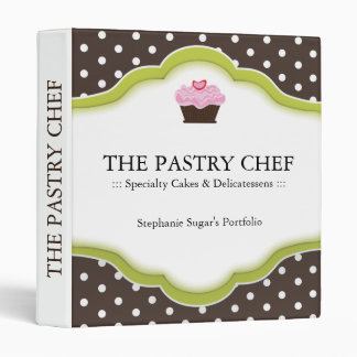 Pastry Chef Recipe Binder