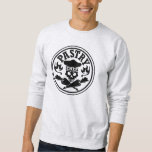 Pastry Chef Skull and Crossed Pastry Bags Pullover Sweatshirt