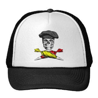 Pastry Chef Skull Hat