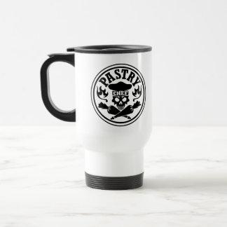 Pastry Chef Skull Travel Mug