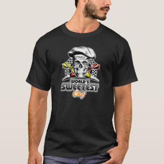 Pastry Chef Skull: World's Sweetest Chef v6 T-Shirt