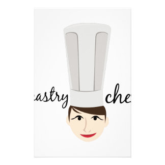 Pastry Chef Stationery