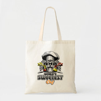 Pastry Chef: Sweetest Chef Budget Tote Bag