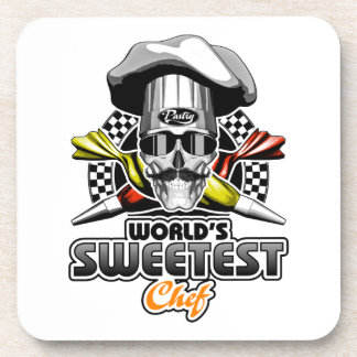 Pastry Chef: Sweetest Chef Coaster