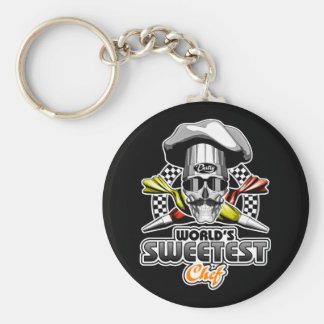 Pastry Chef: Sweetest Chef Keychain