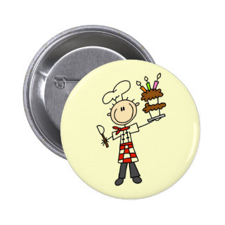 Pastry Chef Tshirts and Gifts Buttons