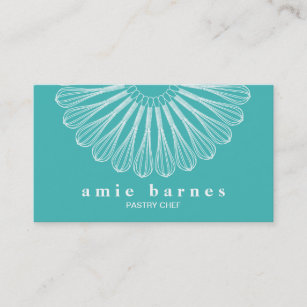 Catering business cards templates zazzle pastry chef whisk logo catering bakery business card reheart Choice Image