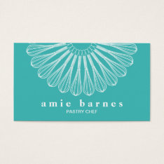 Pastry Chef Whisk Logo Catering  Bakery Business Card at Zazzle