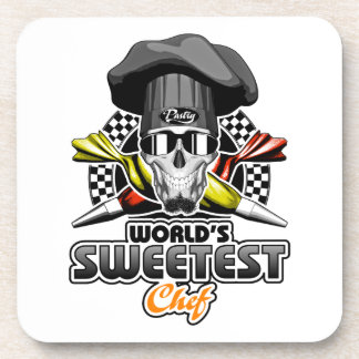 Pastry Chef: World's Sweetest Chef Coaster