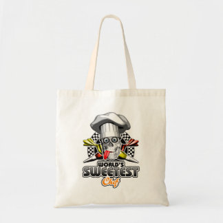 Pastry Chef: World's Sweetest Chef v5 Budget Tote Bag