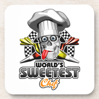 Pastry Chef: World's Sweetest Chef v5 Beverage Coaster
