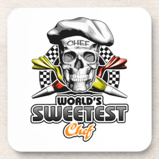 Pastry Chef: World's Sweetest Chef v6 Beverage Coaster