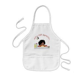 Pastry Cook Apprentice- African American Kids' Apron