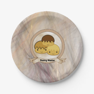 Pastry Maniac 7 Inch Paper Plate