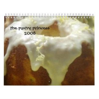 pastry princess 2008 calendar
